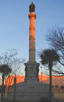 A Statue of John Calhounin in Marion Square